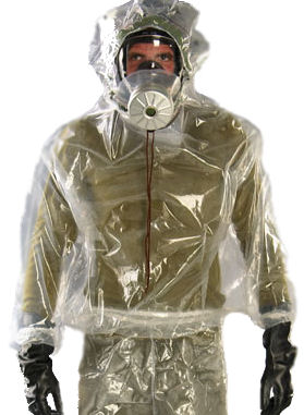 chemical attack suit