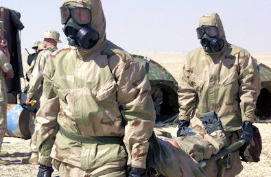 chemical warfare, article by James Mandeville